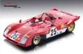 [予約]Tecnomodel(テクノモデル) 1/18 フェラーリ 312 PB セブリング 1971 #25 Andretti/Ickx