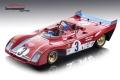[予約]Tecnomodel(テクノモデル) 1/18 フェラーリ 312 PB ニュルブルクリンク 1972 優勝車 #3 R.Peterson/T.Schenken