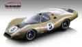 [予約]Tecnomodel(テクノモデル) 1/18 フォード P68 プレスバージョン 1968ゴールドリミテッドエディション #5 Alan Mann