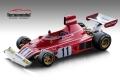 [予約]Tecnomodel(テクノモデル) 1/18 フェラーリ 312 B3 ドイツGP 1974 #11 Clay Regazzoni 優勝車
