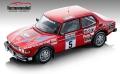 [予約]Tecnomodel(テクノモデル) 1/18 サーブ 99 ターボ ロンバード RAC ラリー 1979 #5 Stig Blomqvist/Bjorn Cederberg