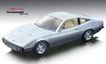 [予約]Tecnomodel(テクノモデル) 1/18 フェラーリ 365 GTC 4 1971 ニュルブルクリンクシルバー/ライトクリームインテリア