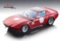 [予約]Tecnomodel(テクノモデル) 1/18 フェラーリ GTB/4 ミケロッティ プレス レッドバージョン/ブラックルーフ 1975