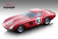 [予約]Tecnomodel(テクノモデル) 1/18 フェラーリ 250 GTO ニュルブルクリンク1000km 1964 #83 M. Parkes/J. Guichet