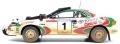 [予約]TOPMARQUES 1/18 トヨタ セリカ GT-FOUR(ST185) カストロール 1993 No.1 サファリラリー ウィナー J.カンクネン ウェザリング(汚し)塗装