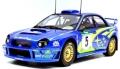 [予約]TOPMARQUES 1/18 スバル インプレッサ S7 555 WRC No.5 2001 ニュージーランド ウィナー