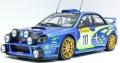 [予約]TOPMARQUES 1/18 スバル インプレッサ S7 555 WRC No.10 2002 モンテカルロ ナイトバージョン
