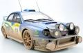 TOPMARQUES 1/18 スバル インプレッサ S7 555 WRC No.10 2002 モンテカルロ ナイトVer(汚し塗装)