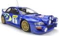 [予約]TOPMARQUES(トップマルケス)1/18 スバル インプレッサ S4 No.3 モンテカルロ 1998