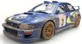 [予約]TOPMARQUES 1/18 スバル インプレッサ S4 No,3 ツール ド コルス 1998 ウィナー C.マクレー ウェザリング(汚し)塗装