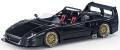 [予約]TOPMARQUES 1/18 F40 LM Beurlys Barchetta (ブラック)