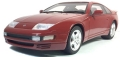 """TOPMARQUES(トップマルケス)1/18 """"Lucky Step""""シリーズ 日産 300 ZX (レッド)"""