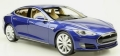 [予約]TOPMARQUES 1/18 TESLA  Model S 2012 (ブルー)