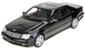 [予約]TOPMARQUES 1/18 AMGメルセデス CL600 7.0 クーペ ブラック