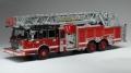 ixo (イクソ) 1/43 SMEAL 105 はしご付 US消防トラック 2015