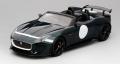 [予約]TOP SPEED (トップスピード) 1/18 ジャガー F-タイプ プロジェクト 7 ブリティッシュ レーシング グリーン メタリック
