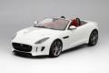 [予約]TOP SPEED (トップスピード) 1/18 ジャガー F-タイプ R コンパーチブル ポラリス ホワイト