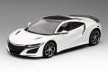 TOP SPEED (トップスピード) 1/18 ホンダ NSX 2017 130Rホワイト/カーボン ファイバー パッケージ(RHD)