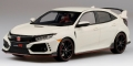 [予約]TOP SPEED (トップスピード) 1/18 Honda シビック Type R チャンピオンシップホワイト(*左ハンドル)