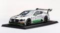 [予約]TOP SPEED (トップスピード) 1/18 ベントレー コンチネンタル GT3 #8 ブランパン GTシリーズ モンツァ 2018 ベントレー チーム M-スポーツ