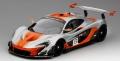 TrueScale(トゥルースケール)1/18 マクラーレン P1-GTR #13 2015 シルバー/オレンジ