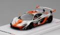 TrueScale(トゥルースケール)1/43 マクラーレン P1-GTR #13 2015 シルバー/オレンジ