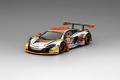 TrueScale(トゥルースケール) 1/43 マクラーレン 650S GT3 #22 スーパー耐久 2016 富士 クリアウォーター レーシング