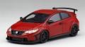 [予約]TrueScale(トゥルースケール) 1/43 Honda シビック タイプR 無限 2016 (ミラノ レッド)