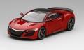 TrueScale(トゥルースケール) 1/43 Honda NSX バレンシアレッドパール モデューロ ホイール *ダイキャストモデル