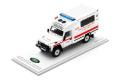 TSM(ティーエスエム) 香港限定モデル 1/43 ランドローバー ディフェンダー 香港消防救護車