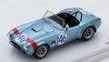 TSM(ティーエスエム) 1/43 シェルビー コブラ タルガフローリオ 1964 #146 D.Gurney/J.Grant クラス優勝車