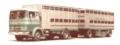 [予約]ixo (イクソ) 1/43 メルセデスベンツ LPS 1632 Livestock transporter 1970