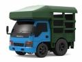 TINY(タイニー) TinyQ いすゞ Nシリーズ 1993 マーケットトラック (ブルー/グリーン)