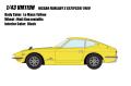 [予約]VISION (ヴィジョン) 1/43 日産 フェアレディZ 432 (PS30) 1969 ルマンイエロー