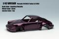 [予約]VISION (ヴィジョン) 1/43 ポルシェ 911(964) ターボ 3.6 1993 アメジストメタリック(タンインテリア)