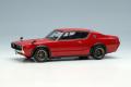 [予約]VISION (ヴィジョン) 1/43 日産 スカイライン 2000 GT-R (KPGC110) 1973 (RSワタナベ 8スポークホイール)  レッド
