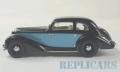 [予約]Whitebox(ホワイトボックス) 1/43 オチキス 686 GS 1949 ブラック/ライトブルー