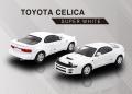 【お1人様5個まで】POP RACE 1/64 トヨタ セリカ GT-FOUR ST185 【スーパーホワイト】