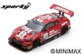 Spark (スパーク) Sparky 1/64 日産 GT-R ニスモ GT3 No.23 GT SPORT MOTUL Team RJN 7th 24H SPA 2018 M.Parry/A.Buncombe/L.Ordonez