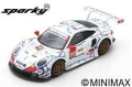 Spark (スパーク) Sparky 1/64 ポルシェ 911 RSR No.911 ポルシェ GT Team Winner GTLM class Petit ル・マン 2018 P.Pilet/N.Tandy/F.Makowiecki