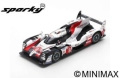 [予約]Spark (スパーク) sparky 1/64 TOYOTA TS050 HYBRID No.7 TOYOTA GAZOO Racing 2nd 24H ル・マン 2019 M.Conway/K.Kobayashi/J.M.Lopez