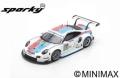 [予約]Spark (スパーク) sparky 1/64 ポルシェ 911 RSR No.93 ポルシェ GT Team 3rd LMGTE Pro class 24H ル・マン 2019 P.Pilet/E.Bamber/N.Tandy
