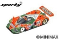 Spark (スパーク) sparky 1/64 マツダ 787 B No.55 Winner 24H Le Mans 1991 V. Weidler - J. Herbert - B. Gachot