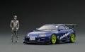 【ポイント交換品 18,000pt】ignition model(イグニッションモデル) 1/43 トヨタ スープラ (JZA80) RZ ORIDO-STREET Ver.2 Blue With Mr. Orido