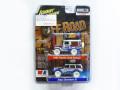 【ポイント交換品 4,400pt】Johnny Lightning(ジョニーライトニング)1/64 ランドクルーザー、ジープチェロキーXJ 2台セット ※チェイスカー