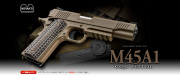 【18才以上用】【高性能】【初心者】 東京マルイ  【ガスブローバック】 M45A1 CQB PISTOL M45A1 シーキュービー ピストル