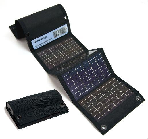 Power Film  USB+単3電池ソーラーチャージャー  USB+AA Solar Charger