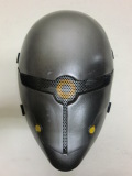 ノーブランド  【フェイスガード】 Fabric Plastic Metal Gear style Mesh Mask