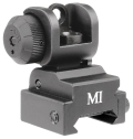 Midwest Industries ERS Flip-up Rear Sight - Black