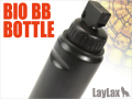 LayLax(ライラクス)  【バイオBBボトル】 6mmBB弾 <オールブラック>